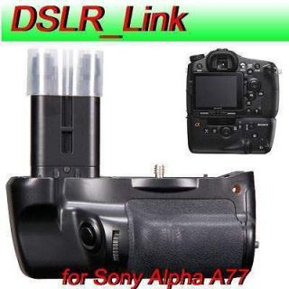 Multi Power Battery Grip For SONY Alpha SLT A77 SLT A77A DSLR Camera