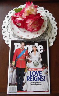Magazine Special Issue Prince William Kate Wedding Album Love Reigns