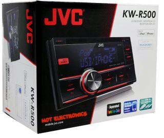 R500 Double Din Car Receiver/ Radio FRONT USB/AUX/ IPOD/IPHONE/PANDORA