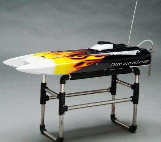 Fiberglass 31 catamaran hull for electronic and nitro rc boat