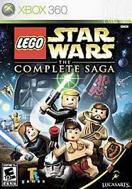 Xbox 360 LEGO Star Wars The Complete Saga NEW Sealed REGION FREE