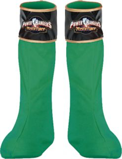 Power Ranger Green Boot Covers Costume Accessory Christmas Party Gift