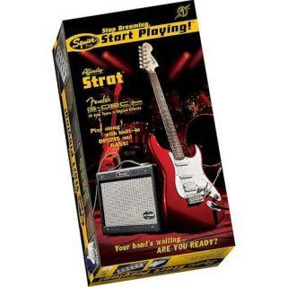 Squier by Fender Set Affinity Strat HSS with G DEC Junior Amp   Black