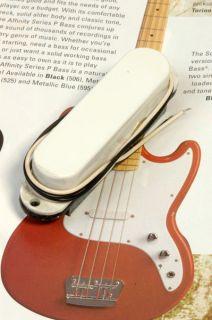 Genuine Fender Bronco Bass Pickup w/ White Cover 0055386000 NEW
