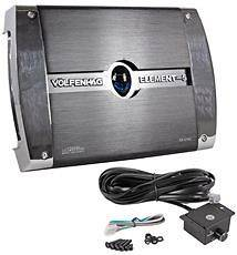 Volfenhag ZX 5162 1200 Watt 2 Channel Car Audio Power Amplifier/Amp