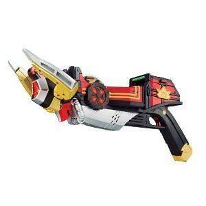 RARE MISB Power Rangers SAMURAI SHINKENGER Bullzooka Mougyu Bazooka