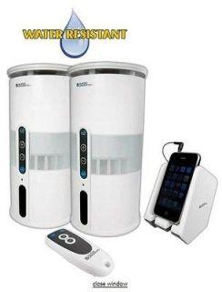 Audio Unlimited SPK VELO W3 WHITE Indoor/Outdoor Wireless Speakers w