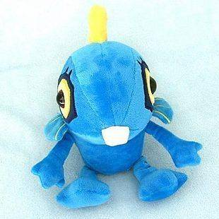 Blizzard World of Warcraft Character Blue Murloc Stuffed Plush Soft