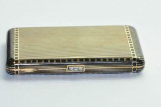 Art Deco 1920s Boardwalk Empire 18k Solid Yellow Gold Cigarette