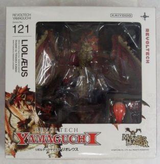 Kaiyodo Revoltech 121 Capcom Monster Hunter Red RATHALOS Action Figure
