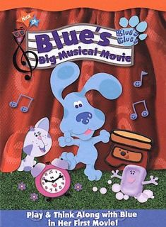 Blues Clues   Blues Big Musical Movie (DVD, 2000, Checkpoint)