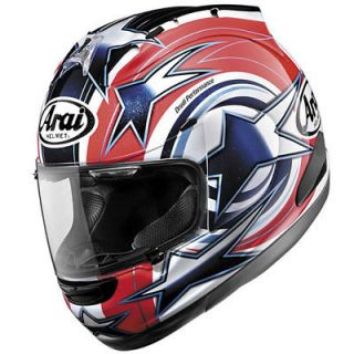 Arai Corsair V Motorcycle Full Face Helmet Edwards Red Large