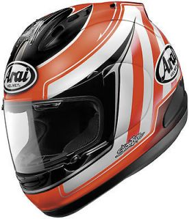 Arai Corsair V Motorcycle Full Face Helmet Nicky 3 Red Small