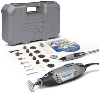 Dremel 3000 1/25 EZ Series Rotary Drill Multi Tool + Flex shaft & 25