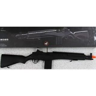 NEW Double Eagle Airsoft Tactical Spring Full Scale M14 Sniper Rifle