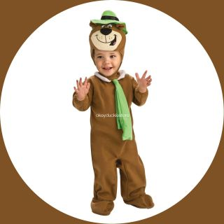 FREE SHIP Hanna Barbera Yogi Bear Toddler Romper Headpiece Deluxe