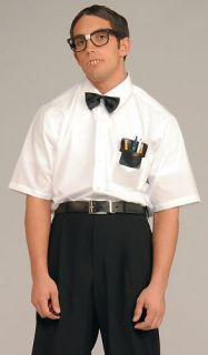 Dress Up Kit Nerd Geek Squad Dork Costume Accessory Set