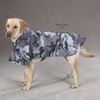 Guardian Gear Black Camo Dog Rain Jacket Coat XS XXL