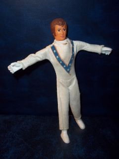 Vintage 1972 Ideal Evel Knievel 7 Bendable Figure