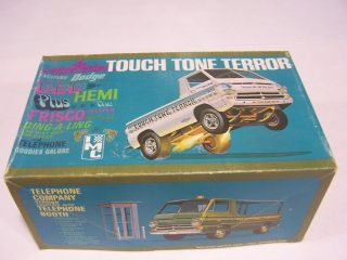 IMC ORIGINAL ISSUE TOUCH TONE TERROR DODGE DRAG TRUCK