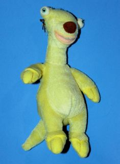 TY BEANIE BABIES ICE AGE SID THE SLOTH PLUSH DINOSAUR ~ Pre owned Fine