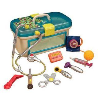 Kids Toddler Pretend Safe Doctor Dr. Toy Medical Doctors Kit Carry