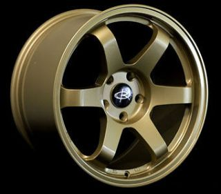 17 ROTA GRID GOLD RIMS WHEELS 17x9 +42 5x100 SUBARU WRX