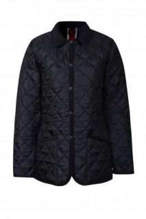 RAYDON Quilted Jacket Made In England Harvard / Union Jack size 12