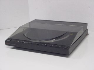 Carrera Full Automatic Turntable LT 120 Linear Tracking for Repair
