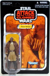 Damaged Packaging / LOOSE Star Wars MACE WINDU Figure VC35 Vintage
