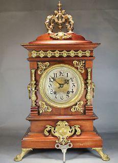 Antique Lenzkirch Mantle Clock