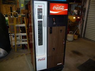 Vintage Cavalier Coca Cola Soda Bottle Vending Machine
