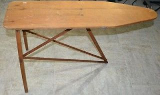 Vintage Antique Our Own Wooden Toy Ironing Table Board No. 34