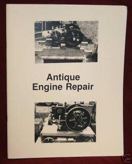 Antique Engine Repair Book Hit & Miss Gas Engine