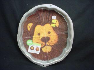 Wilton LION cake pan ZOO JUNGLE CAT ANIMAL bake mold tin INSERT Safari