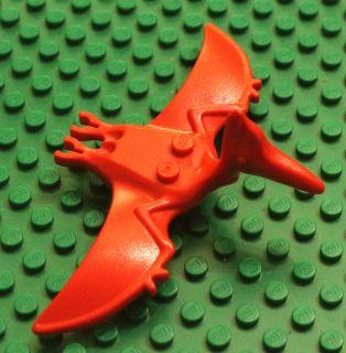 LEGO Animal Dinosaur RED PTERODACTYL Pterodon Dino Minifig Minifigure