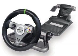 Mad Catz Gaming Steering Wheel   Wireless   Headphone   Xbox 360
