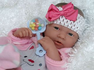SWEET Berry Baby!! ADORABLE Preemie Berenguer La Newborn Reborn Doll