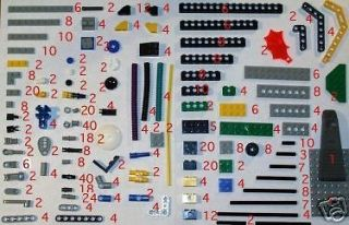 Lego Technic Mindstorms over 620+ pcs 1.5/2.0 big lot exc+