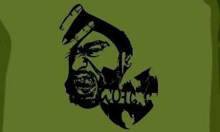 Tang Clan Brady Bunch shirt wear wutang rza gza odb method man vtg L