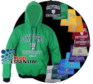 Oxford University Uni London Sweatshirt Sweat Shirt Hoodie Hoody