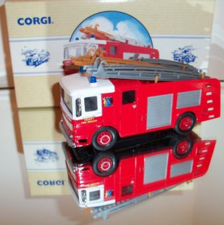 Cleveland County Fire  Truck Model by Corgi MINT 150 Boxed