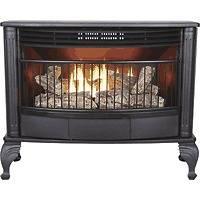 PROCOM Vent Free Natural Gas Propane LP Fireplace Stove