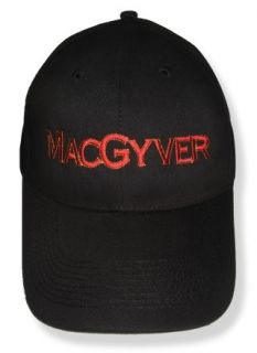 MacGyver Logo Embroidered Cap Richard Dean Anderson Hat