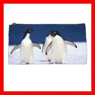 Pencil Case Pen Bag PENGUIN Animal Aquarium Sea Ocean South Pole