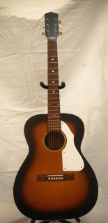 Vintage Silvertone Italian Made Acoustic Guitar Model 698   Super Rare