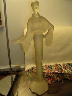 Austin Prod productions lucite acrylic sculpture woman in vintage