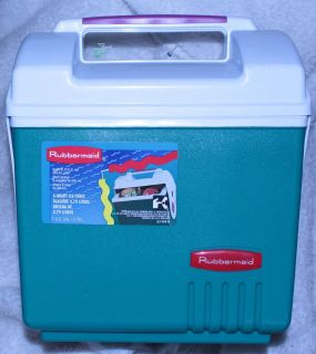 Rubbermaid 4 Quart Ice Chest 1 Gallon Cooler 11 X 9 X 7
