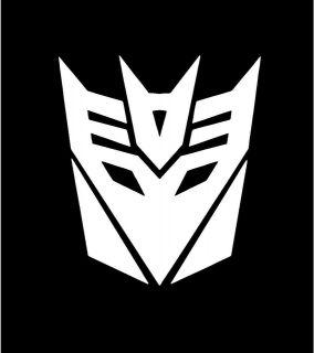 Decepticons Transformers Symbol Logo Car Vinyl Window Decal Sticker