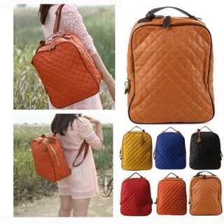 Korean celebrity vintage style Hot trend backpack school bookbag